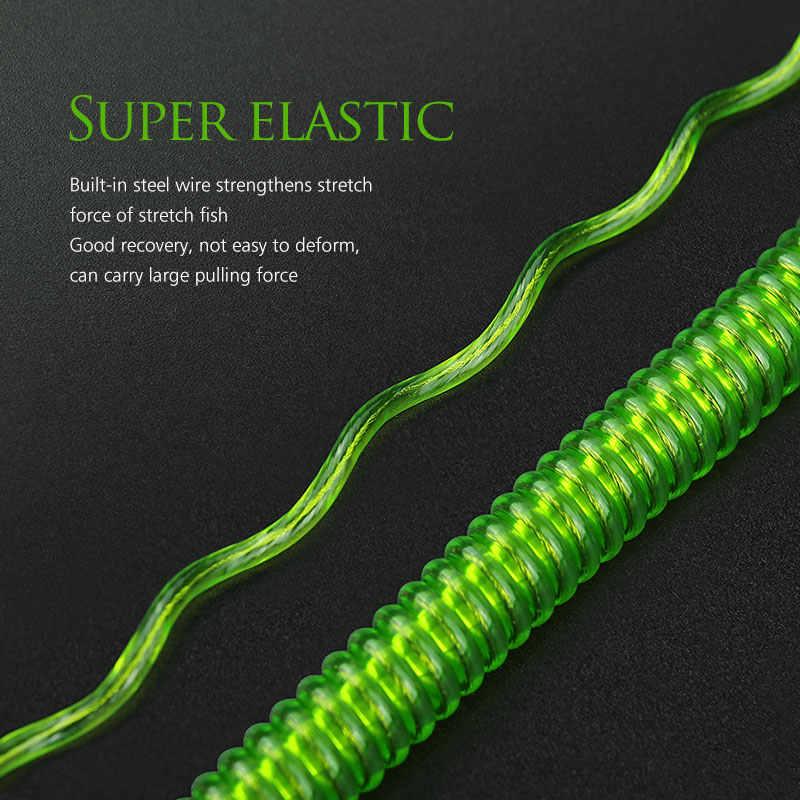 Linnhue Visgerei Lokken Touwen Sluit Staaf Plastic/Staaldraad 6 Kleuren Beschikbaar Verloren Touwen Beschermen Hengels Hoge kwaliteit