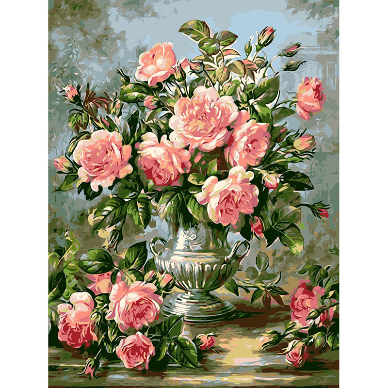 2016 DIY Pictures on the wall Painting By Numbers Digital Oil Painting On Canvas handwork gift