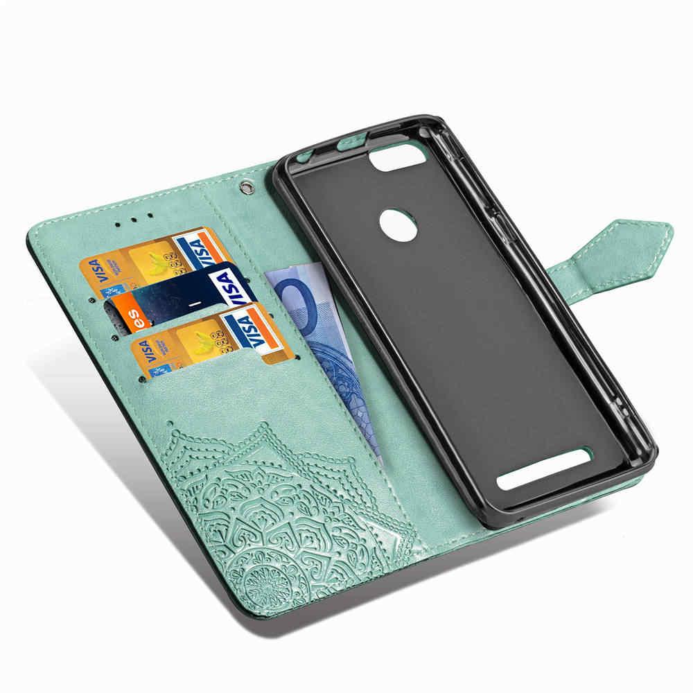 Dla Leagoo KIICAA zasilania oryginalne PU skórzany futerał posiadacz karty kiesy portfel magnetyczny etui z klapką stojak etui z termoplastycznego poliuretanu dla LEAGOO M8