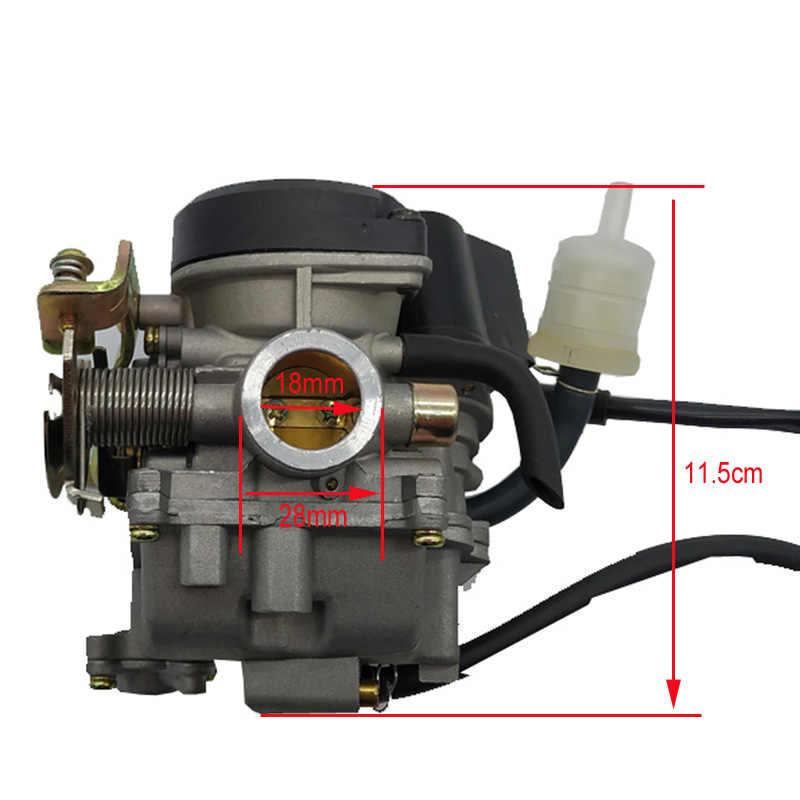 18 Mm Karburator Carb Menggantikan untuk GY6 50cc PD18J Cvk 139QMB 139QMA Skuter ATV Mobil Motor Karburator Mesin Aksesoris