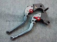 Red&Titanium Motorcycle CNC For Honda CBR900RR 1997-1999 1993 1994 1995 1996 Aluminum foldable Brake Clutch Levers Folding lev