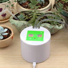 hot deal buy automatic watering succulents rechargeable intelligent timed device balcony office potting watering kits drip irrigation suit