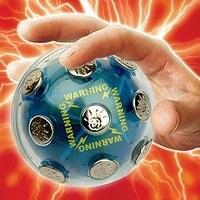 Neue Ankunft Schockierenden Ball Neuheit Spielzeug Unterhaltung Schock Ball Gag spielzeug Spaß Joking Für Gesellschaftsspiele Heiße Kartoffel Spiel Chrismas geschenk