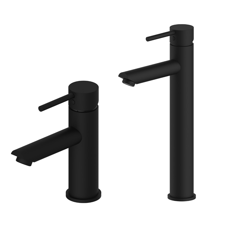 Free shipping black color basin tap Brass white faucet Bathroom Sink Lavatory Basin Faucet / white color mixer tap BF001-in Basin Faucets from Home Improvement    1