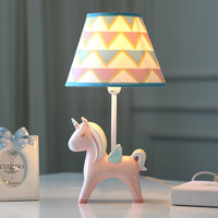 Fashion Creative unicorn Resin Dimmable Led Lamp For Bedroom Bedside Lamp Creative Romantic Warm Children's Room N1471