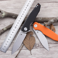 CH3004 Stone Folding Knife with G10 Handle CH Pocket D2 Blade Free Shipping Camping Gift