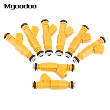 8x Fuel Injectors Kit 0280155710 For Ford E-350 Explorer Thunderbird Lincoln Town Car Mercury Auto Replacement Part High Quality