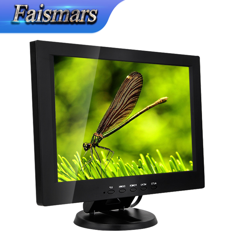 Made in China CCTV 12.1 inch PC Monitor IPS, new style full hd 1280*800 led lcd computer monitor with BNC AV VGA HDMI interface