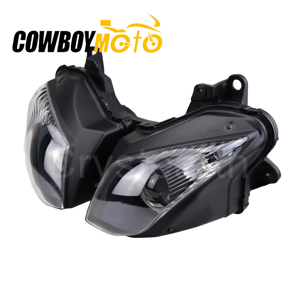 Motorcycle Front Headlight Headlamp head lamp Assembly For Kawasaki Ninja ZX6R ZX 6R 2009 2010 2011 2012|assembly - title=