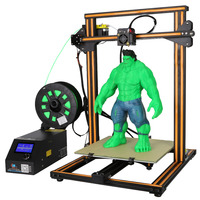 CR-10s Máy In 3D Dual Z Que, Filament Báo Động Giám Sát 3D in TỰ LÀM KIT Prusa i3 In lớn Kích Thước Creality 3D với 200 gam filame