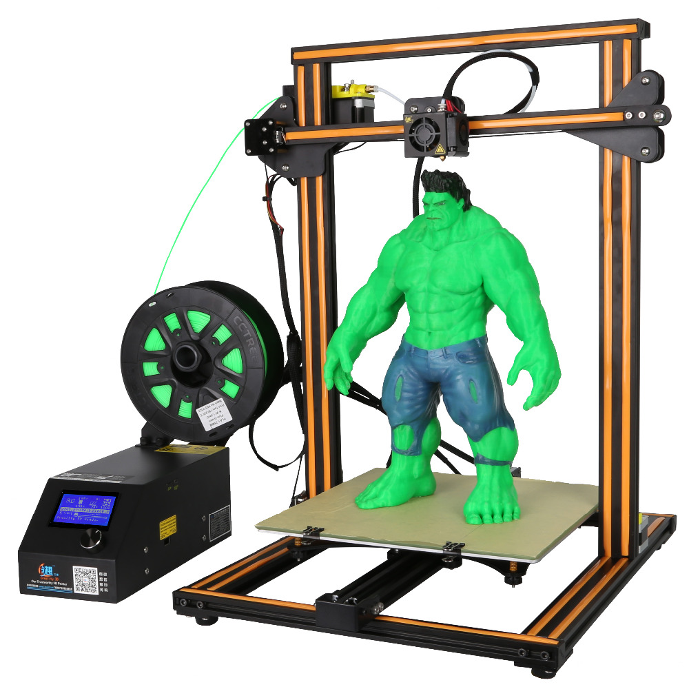 Ender CR D Printer DIY Big print size  mm printer D