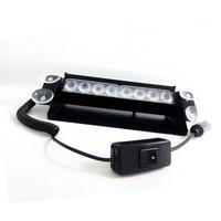 Feidiwei 8 led 4 w auto afgewerkt strobe flash dash noodwaarschuwing flashing baken verlichting flash 3 auto styling