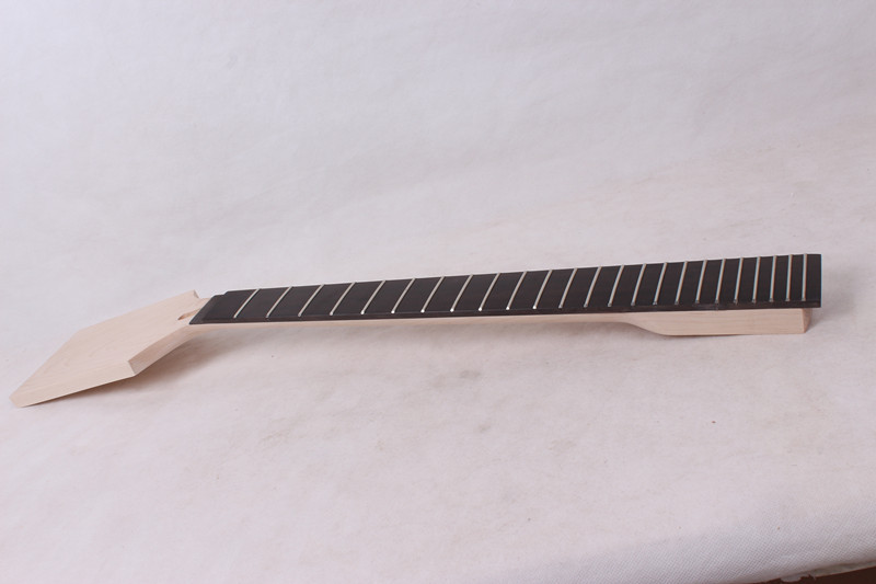 1 25.5 inch ebony fingerboard New high quality Unfinished guitar neck maple made new high quality unfinished electric guitar neck mahogany made rosewood fingerboar