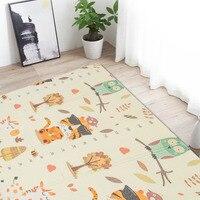 Animal Cartoon Crawling Mat Climbing Pad XPE Folding Crawl Pad Infant Play mat Baby Carpet Developing Mat for Children Game Pad