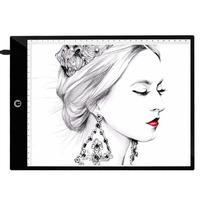 A4 цифровой рисунок, графика планшет 3 типа затемнения Режимы светодиодный калькирование, копирование доска Рисование Живопись цифровой пла...
