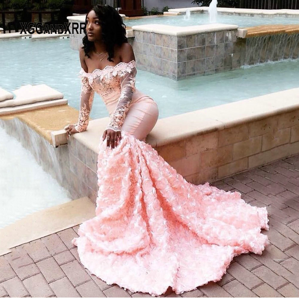 C031128 Elegant   Prom     Dress   2019 Candy Color Backless Beading Sexy Long Evening   Dress   Girls robe de soiree Luxury Plus Size Gowns