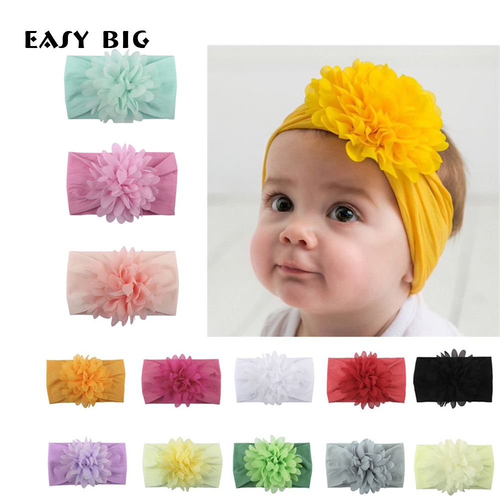 Fashion  Baby Headbands For Girls Baby Infant Headbands Headwear Newborn Baby Princess Hairband Baby Girl Accessories NR0032