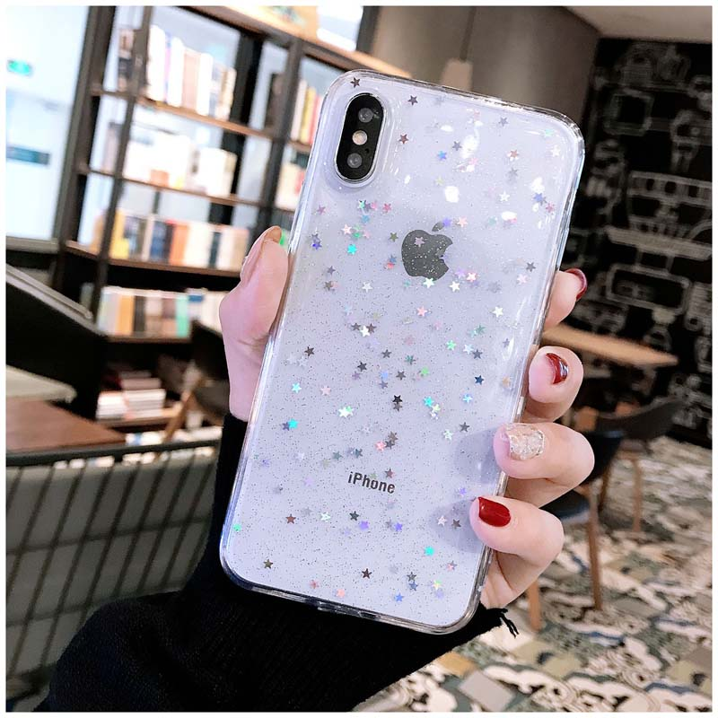 HTB1exSVM8LoK1RjSZFuq6xn0XXaF - Lovebay Bling Star Glitter Soft TPU Phone Cases For iphone 11 Pro XS Max XR X 8 7 6 6S Plus 5S SE Powder Transparent Cover