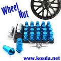 RAYOS Wheel Nut Lug Tuerca P: 1.5 L: 50mm (20 Unids/set)/Azul
