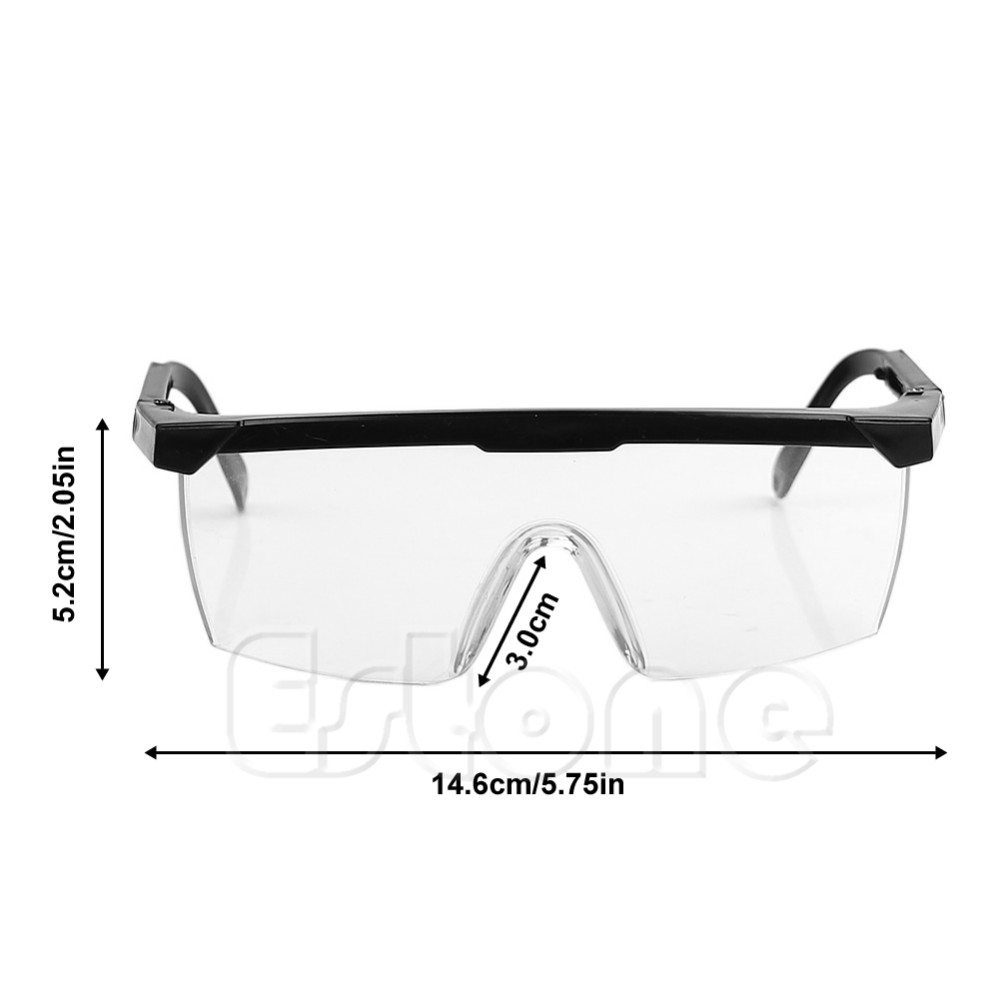 c555b1a8526 Clear Safety Glasses Goggles Work Industrial Tool Eye Wear ...