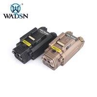 DBAL PL Тактический ИК подсветки оружие с подсветкой пистолет фонарик с красной лазерной NV осветитель WM114