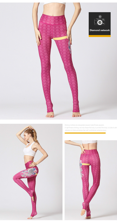 Yoga Leggings de Fitness Mulheres Alargar Collants