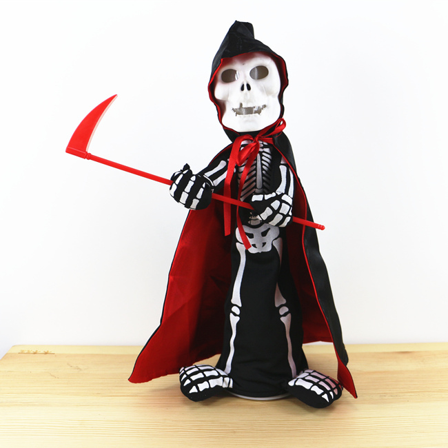 halloween toy electric skull man novelty prank toys horror novelty items funny toys halloween toy electric - Halloween Novelties Wholesale
