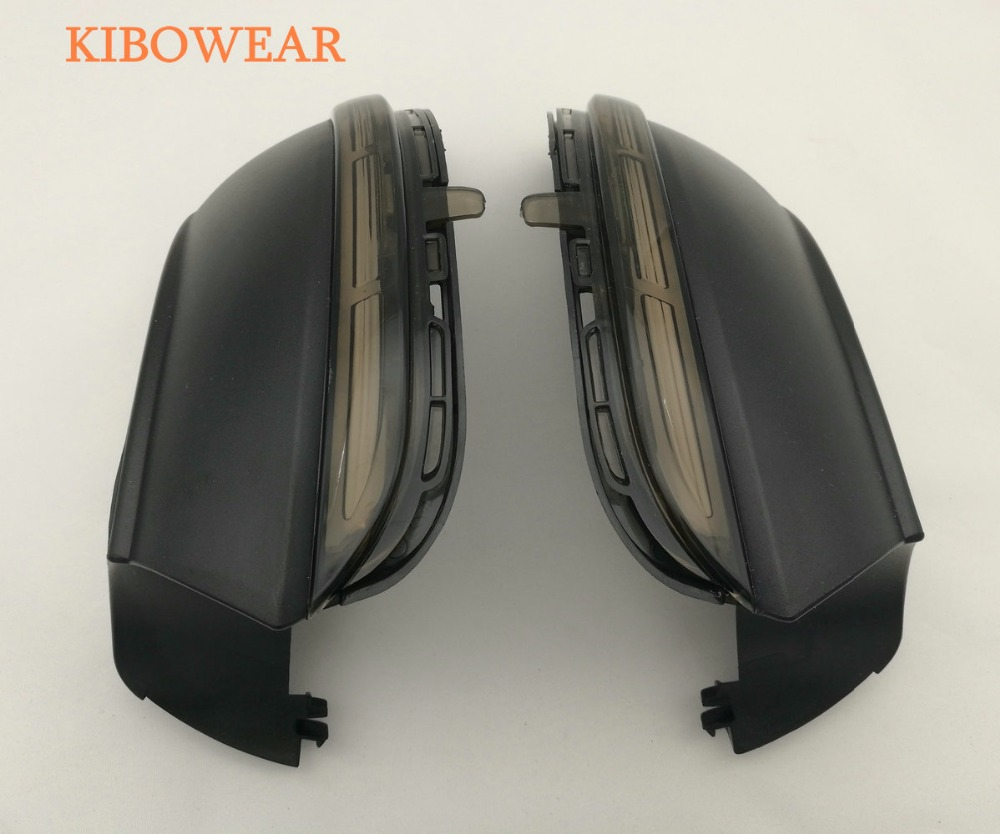 Kibowear for VW Scirocco MK3 Passat B7 CC Dynamic Mirror Indicator Blinker Side LED Turn Signal