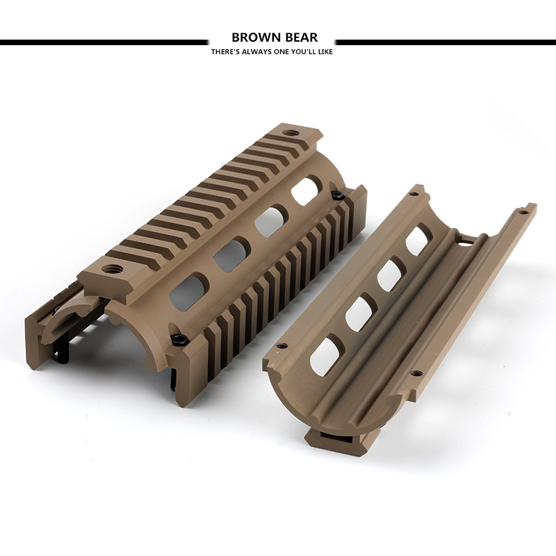 tactical ar 15 m16 rifles 6 75 carbine length 2 piece drop in 223