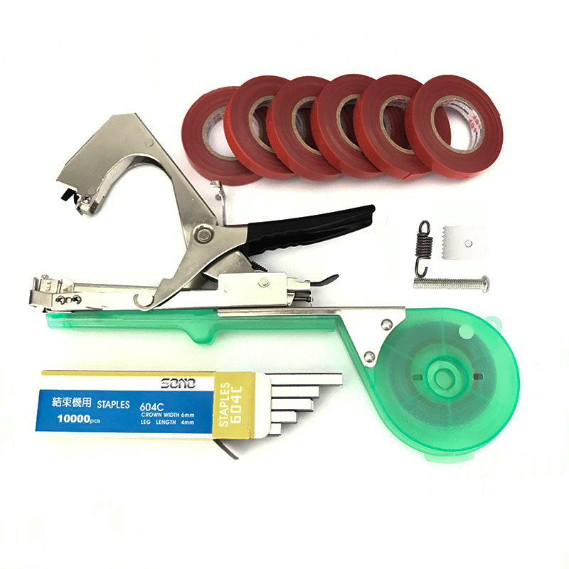 Top gardening tools set multifunctional fruit tape machine for Best gardening equipment