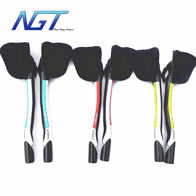 Livraison gratuite fibre de carbone 31.8mm vélo guidon TT barre de repos 3 K Surface brillante Top qualité NGT nouveau gars étapes fabrication