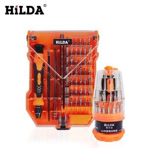 Набор отверток HILDA, набор многофункциональных прецизионных отверток Torx для ремонта планшетных телефонов
