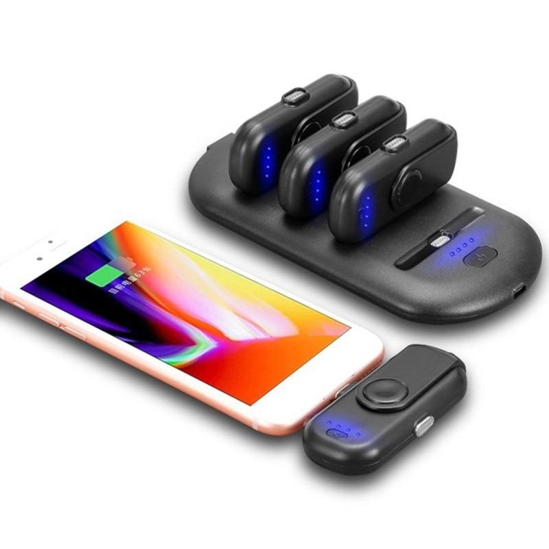 Nouveau Doigt 5 Paquets De Charge Powerbank attraction Magnétique Puissance Banque Chargeur pour iPhone Android Type C Moblie Téléphones Partie Cadeaux
