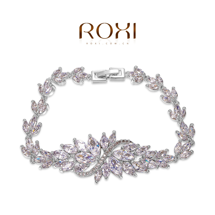 ROXI Fashion Rings gold plated font b trendy b font jewelry wedding gift Austrian crystal fashion