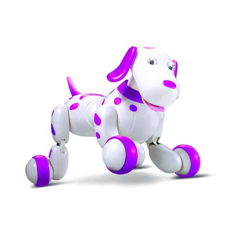Robot chien télécommande Smart chiot 2.4G sans fil électronique Animal de compagnie jouets éducatifs pour le cadeau d'anniversaire des enfants - 4