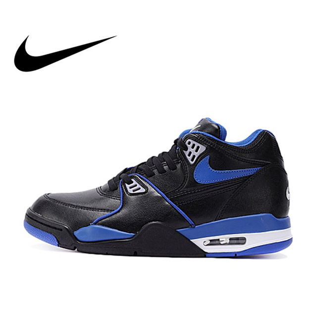 best sneakers d5f00 f5431 Original Official Nike AIR FLIGHT 89 LE AJ4 Medium Cut Men s Breathable Basketball  Shoes Sports Sneakers