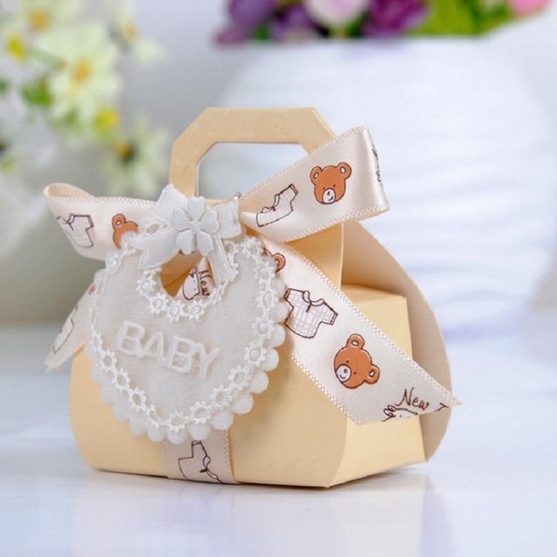 Bear Shape DIY Paper Wedding Gift Christening Baby Shower Party ...