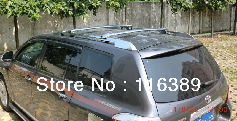 Online Shop TOYOTA HIGHLANDER Cross Bar With LOCK ROOF RACK | Aliexpress  Mobile