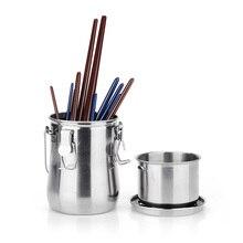 Arruela portátil da escova da pintura de aço inoxidável de arrtx com premiumwith da escape prova e tela do filtro para a limpeza da escova da pintura