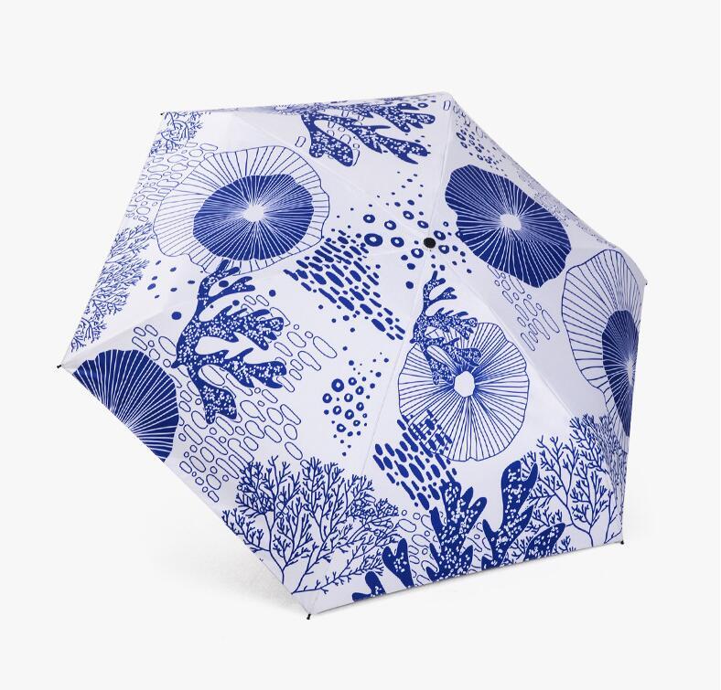 Nouveau haut de gamme cadeau parapluie mini parasol noir en plastique crème solaire UV ombre parasol parapluie cadeau boîte livraison gratuite