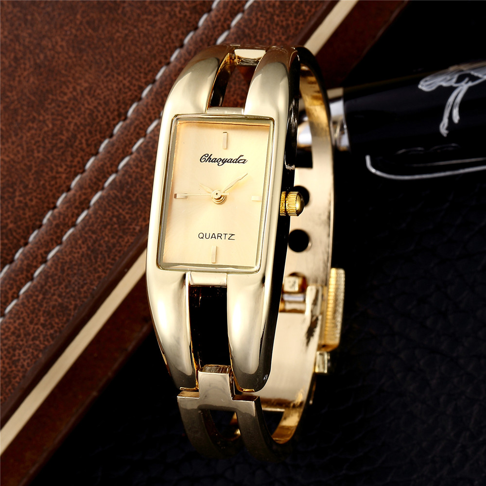 цена на Top Brand Luxury Stainless Steel Watches Women Gold Wristwatch Business ceasuri Quartz Watch Clock hodinky relogio feminino