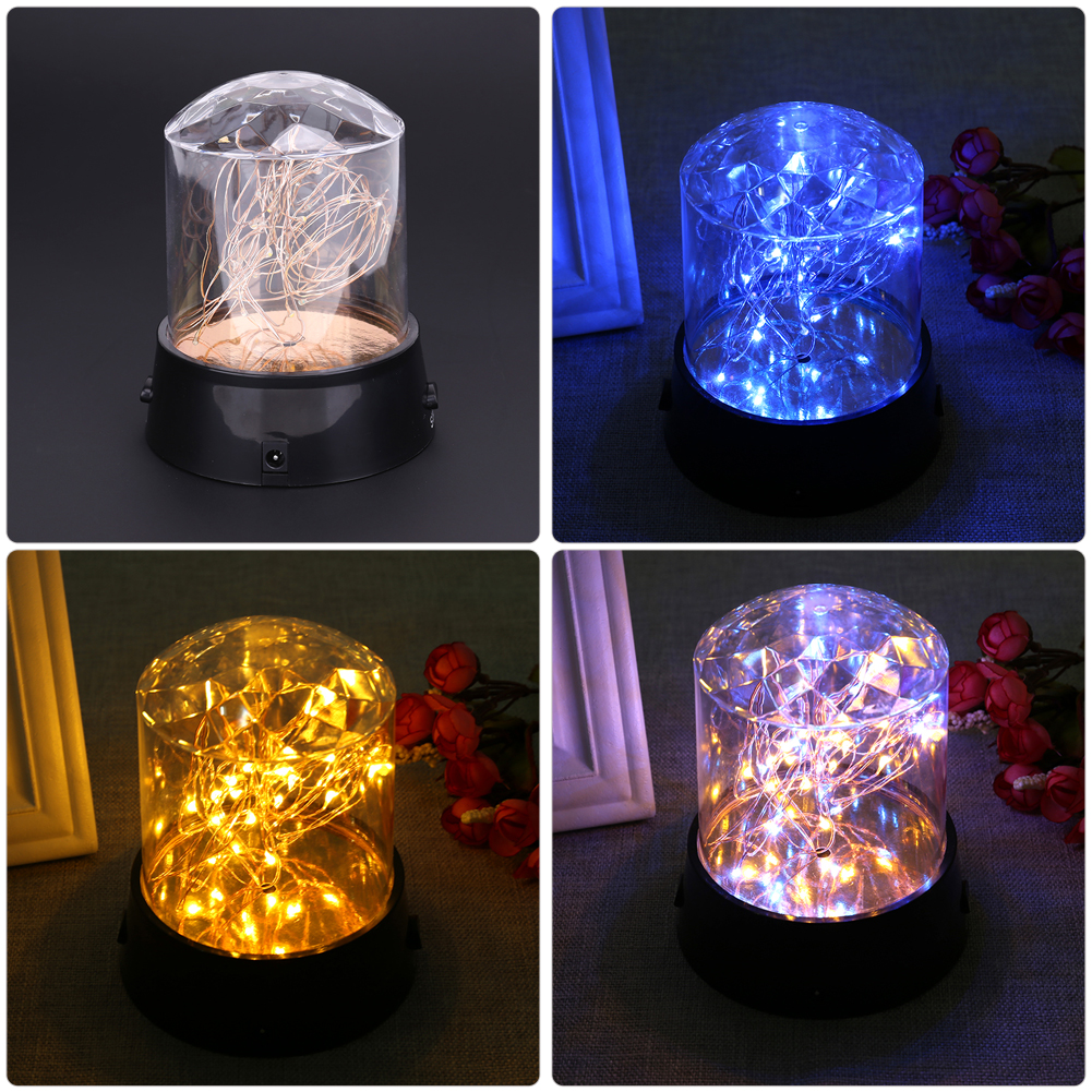 battery star operated led string modes rgby christmas extendable decor lights decorative net work
