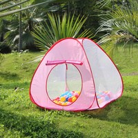 New Lovely Baby Play Tent Child Kids Indoor Outdoor House Large Portable Ocean Balls Great Gift
