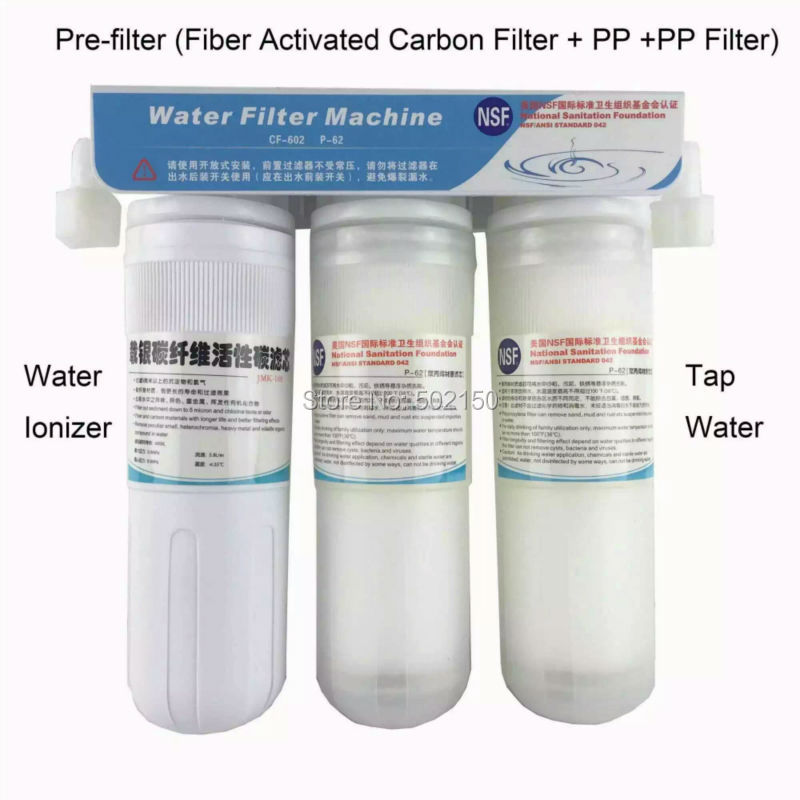 3-Stage pre-filter for water ionizer WTH-802,803 and OH-806 цена