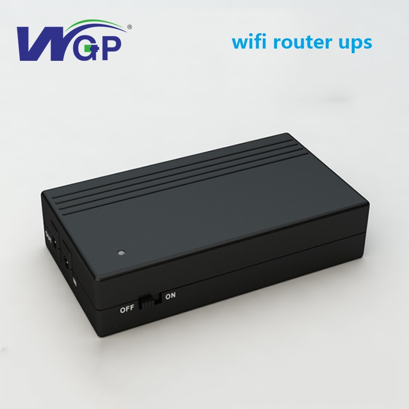 US $38 92  DC input DC output 12V 2A ups portable power supply 12 volt ups  backup battery for cctv camera DVR NVR-in Uninterrupted Power Supply from