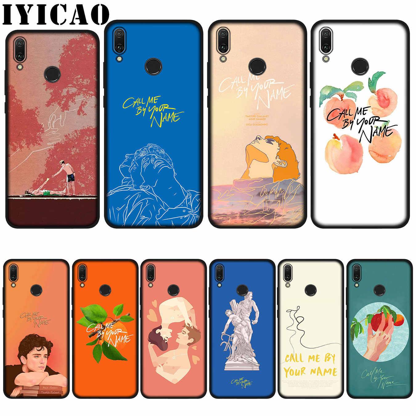 IYICAO Me llaman por su nombre cartel de silicona suave caso de Huawei P20 Pro P10 P8 P9 Lite Mini 2017 P Smart 2019 cubierta