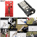 19 in 1 Multifunction Bicycle Repair Tools Kit Hex Spoke Cycling Screwdriver Tools MTB Mountain Bike Repair Tool