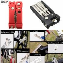 19 в 1 Многофункциональный Велосипедов Инструменты Для Ремонта Комплект Шестигранной Говорил Велоспорт Отвертка Инструменты MTB Горный Велосипед Repair Tool(China (Mainland))
