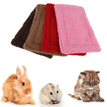 Double Sided Fleece Small Animal Blanket Mat