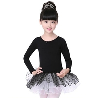 Classical Ballet Tutu Girls Costume Cotton Short Sleeved Professional Ballet Tutu Ballet Dress For Girls